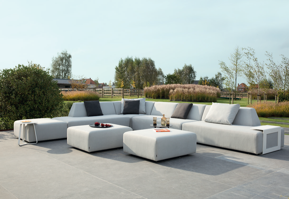diphano units outdoor lounge tuinmeubelen moduleerbare loungers bij living shop diphano. Black Bedroom Furniture Sets. Home Design Ideas