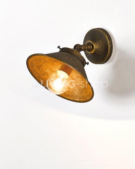 biliardo-muurlamp-brons