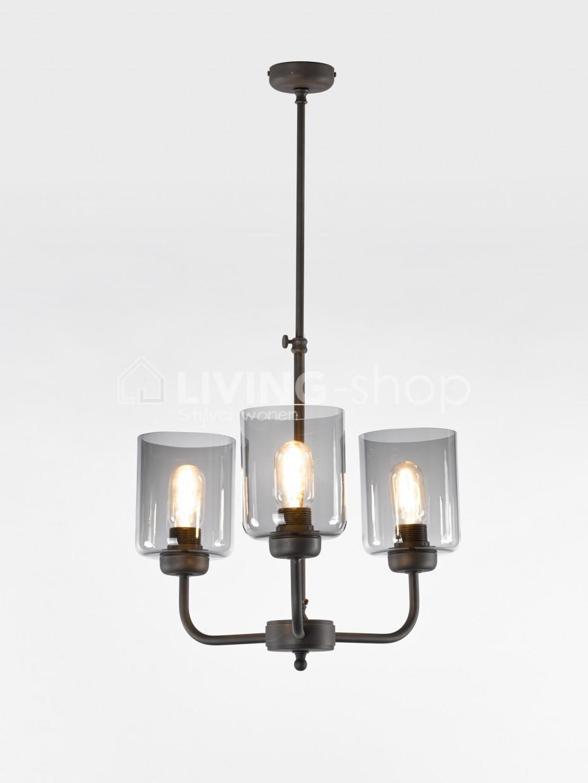 loft-stijl-luster-3-lampen-fume-glas