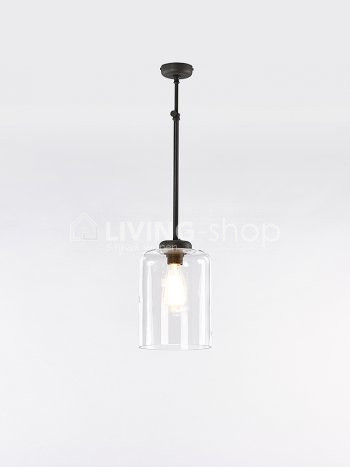 loft-stijl-donkerbrons-hanglamp-met-glazen-kap