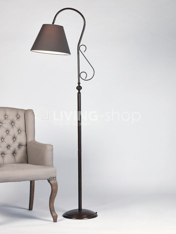 staande lampen landelijke stijl vloerlampen online living shop. Black Bedroom Furniture Sets. Home Design Ideas