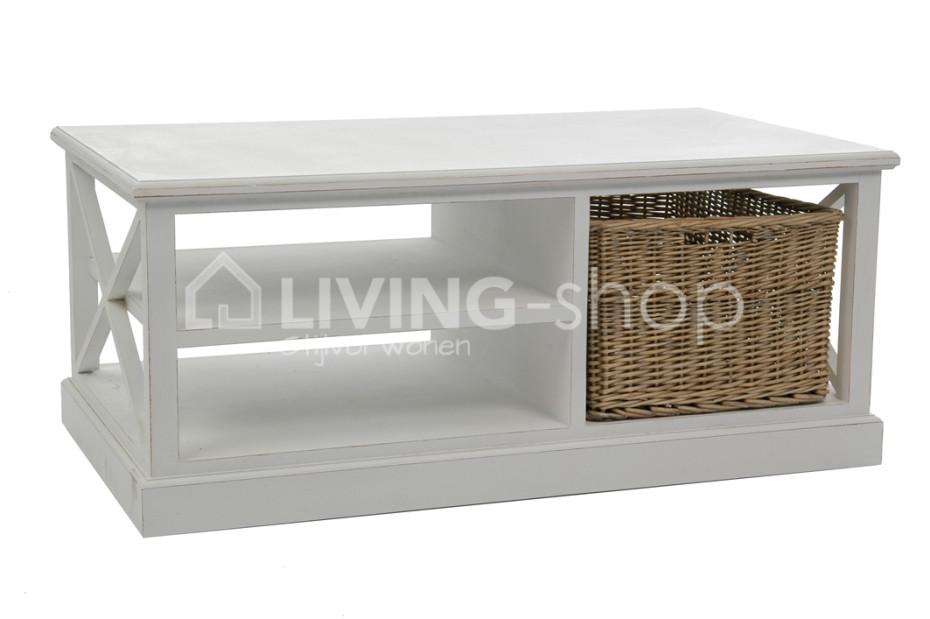 Tables Basse Blanc De Style Country Meubles Blancs J Line Living