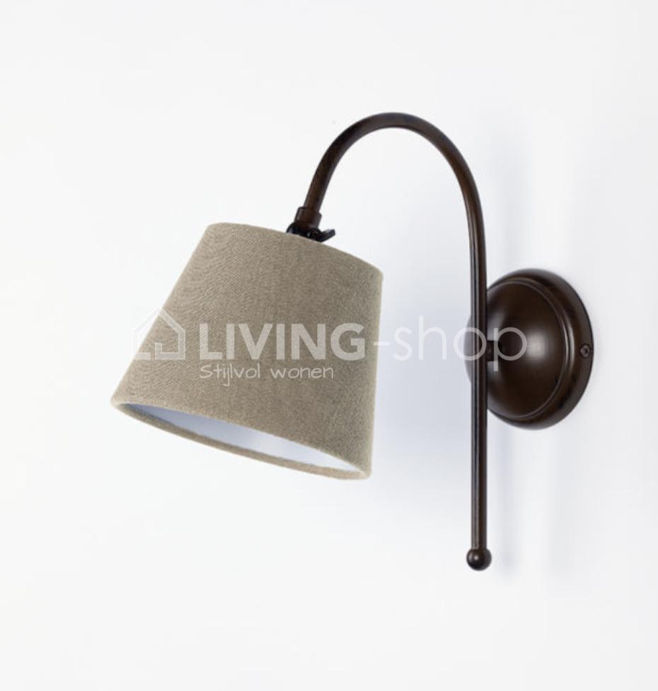 wandlamp-met-lampenkap-landelijke-wandverlichting-j-line
