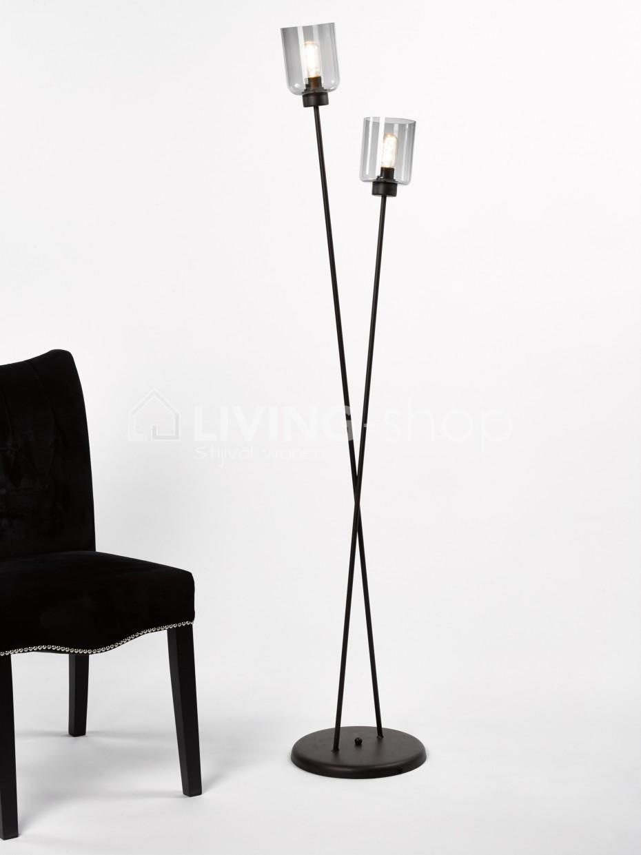 loft-stijl-vloerlamp-fume-glas