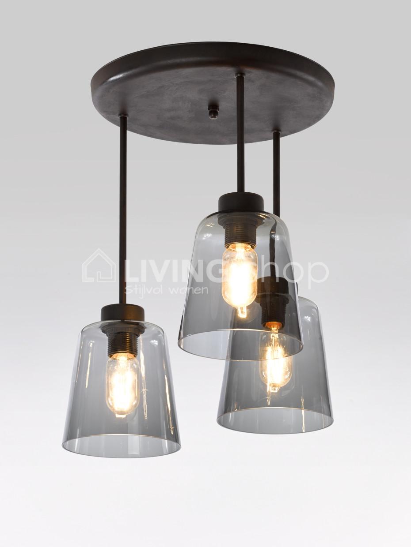 landelijke-loft-stijl-plafondlamp