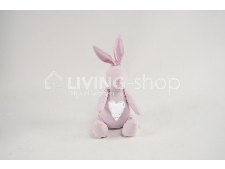roze-konijn-decoratie-countryfield-woondecoratie