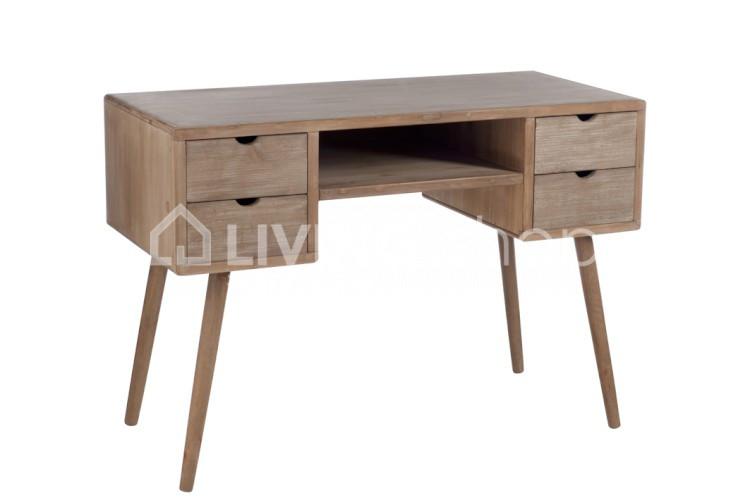 Bureau classique, meubles de style rustique J-Line @ LIVING ...