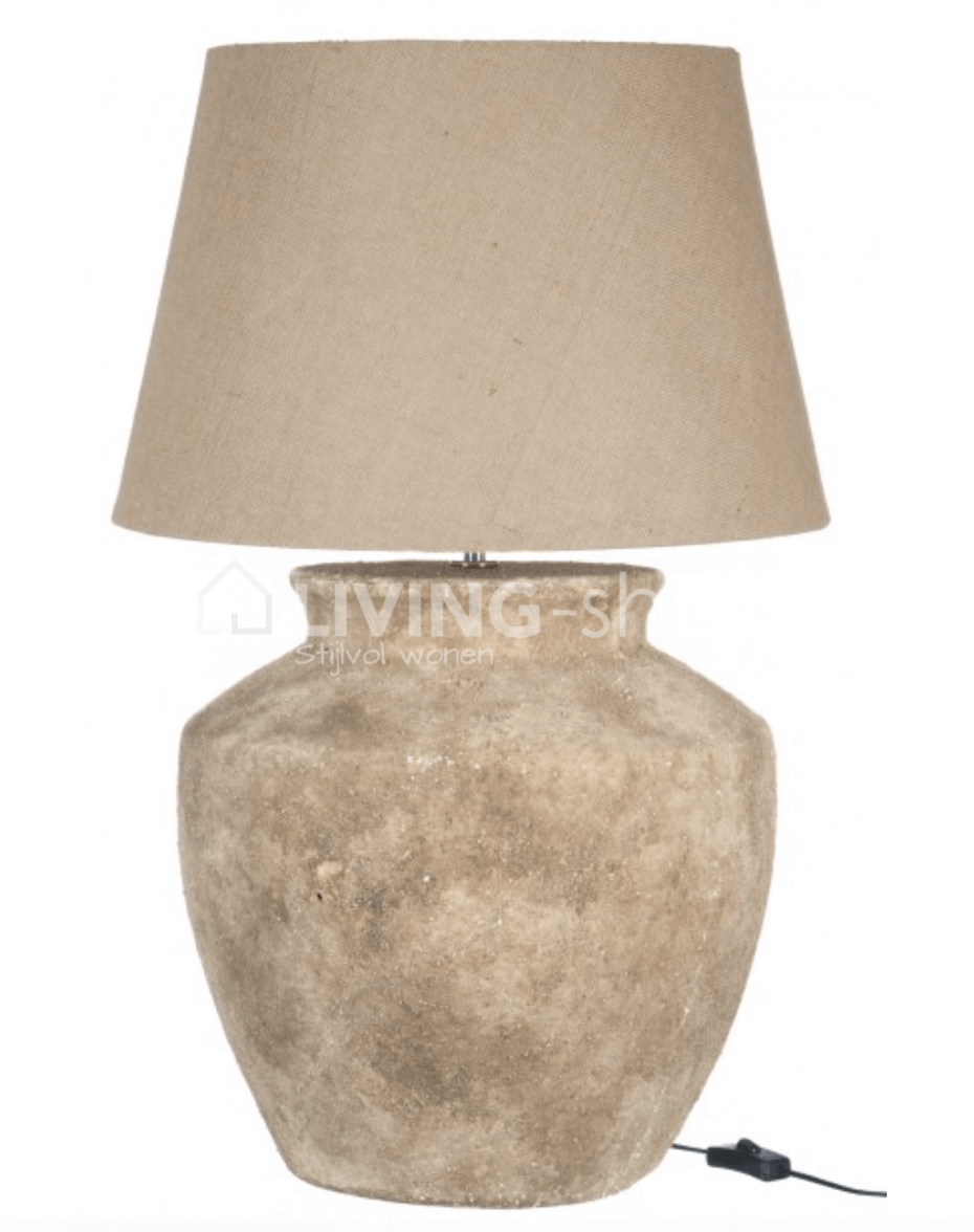 Classic table lamp with lampshade j line maisons de charme living classic table lamp aloadofball Image collections