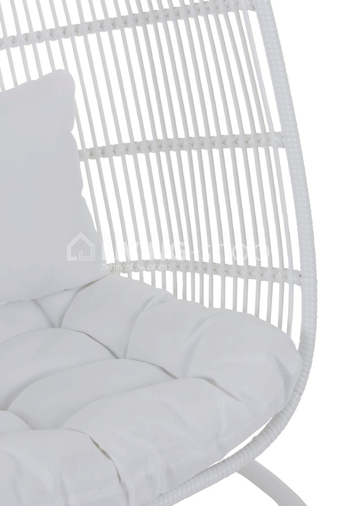 Hangstoel Egg Wit.Hangstoel Egg Chair J Line Outdoor Furniture Online Kopen Living
