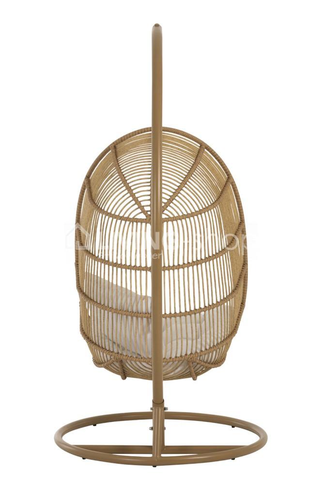 Hangstoel Egg Wit.Hangstoel Egg Chair J Line Outdoor Furniture Online Kopen Living