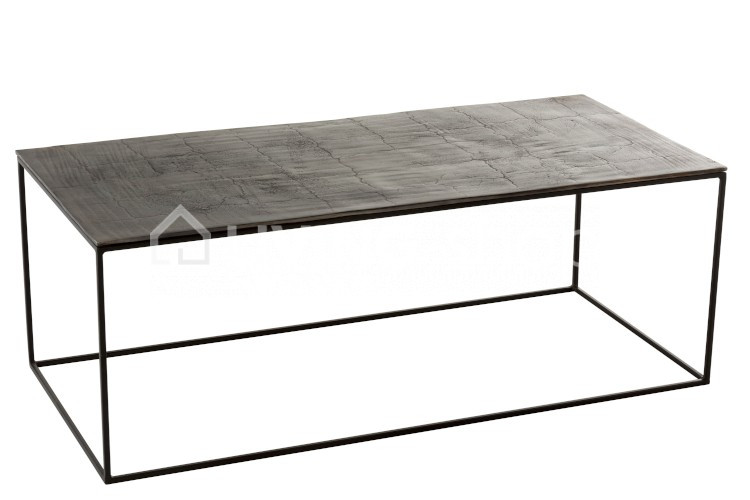 Side Table Metaal.Coffee Table Rectangular Wood Jline Online To Order Living