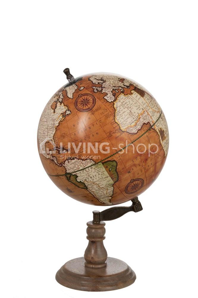 Decoratieve-wereldbol-op-voet-van-J-Line