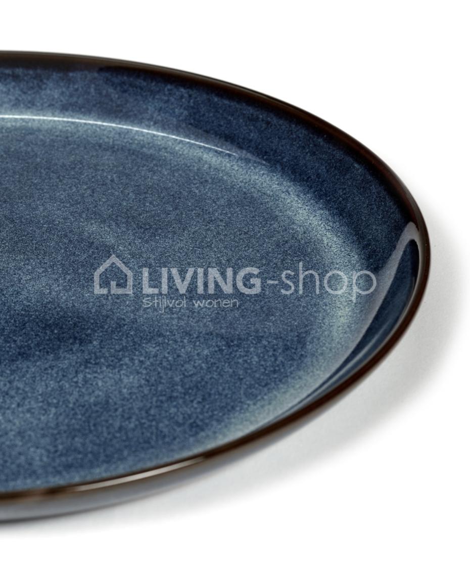 Pure Pascale Naessens Stone Diner Plate for Serax LIVING shop.eu
