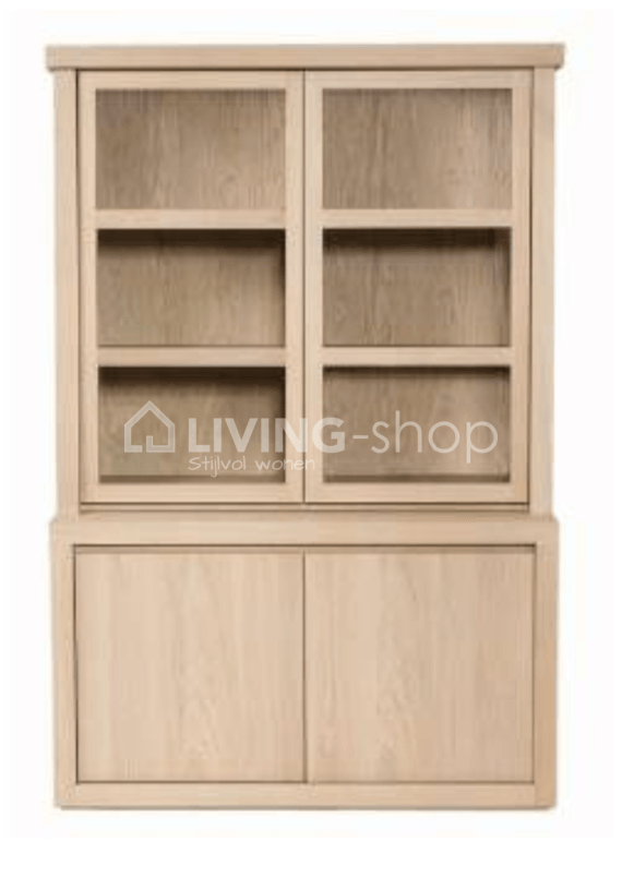 Showcase Pure French Oak Scapa Home At Living Shop Online Store