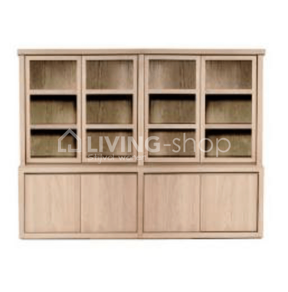 Showcase Pure French Oak Scapa Home 4 Parts At Living Shop Store