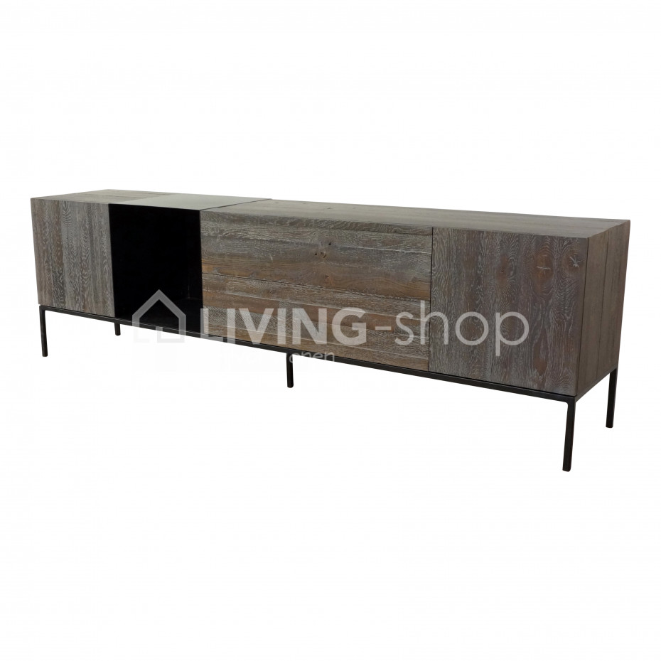scapa home eiken vitrinekast aan de beste prijzen bij living shop living lifestyle. Black Bedroom Furniture Sets. Home Design Ideas