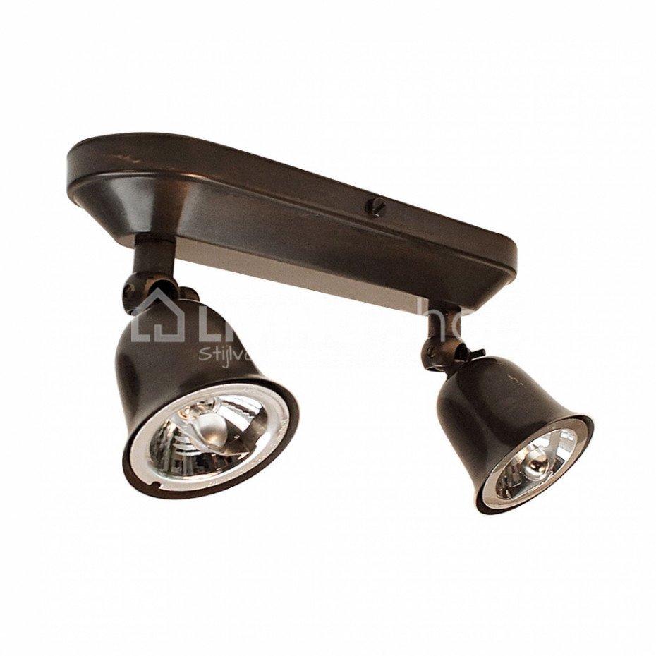 Led Plafondlamp Fleur Brons Authentage Verlichting Online Kopen