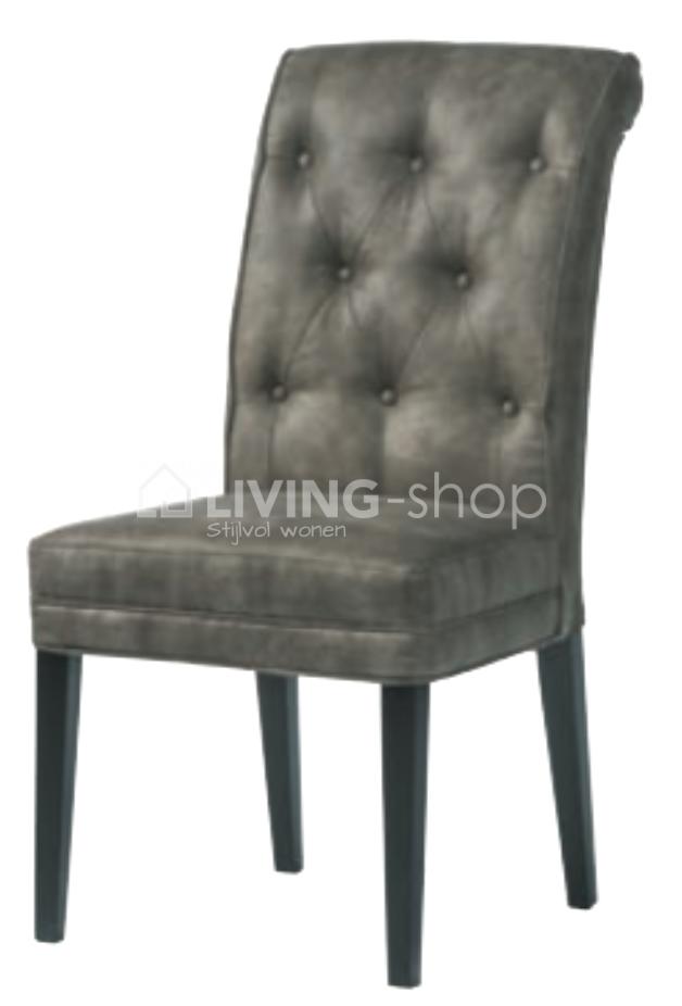 landelijke-stijl-stoel-met-knopen