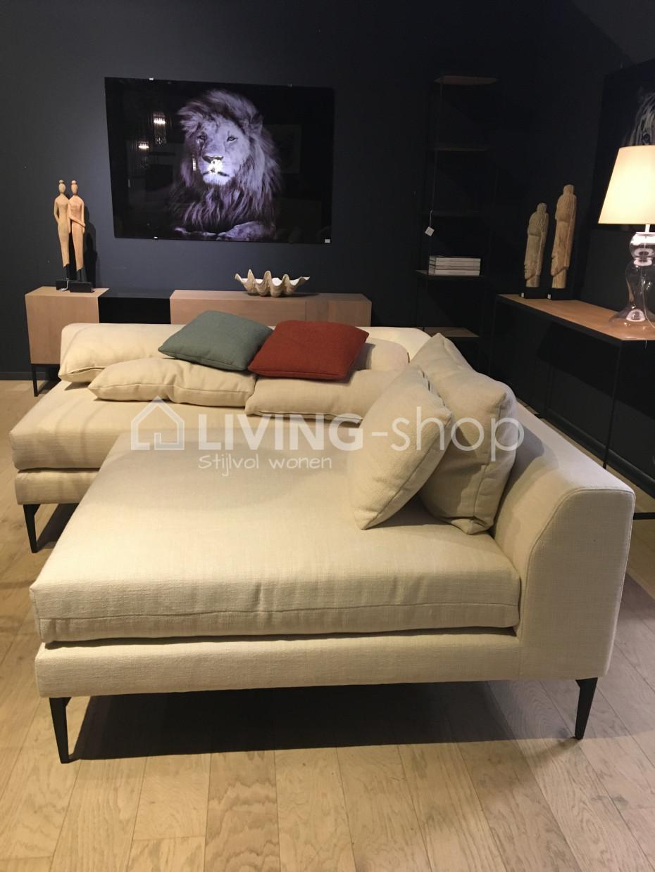 Modulaire lounge zitbank justin zetel pr living bij pr for Lounge zetel