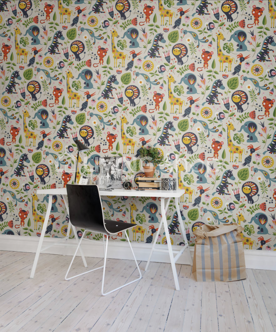 Floral Wall Paper Rebel Walls Wallpaper Living Shop Online