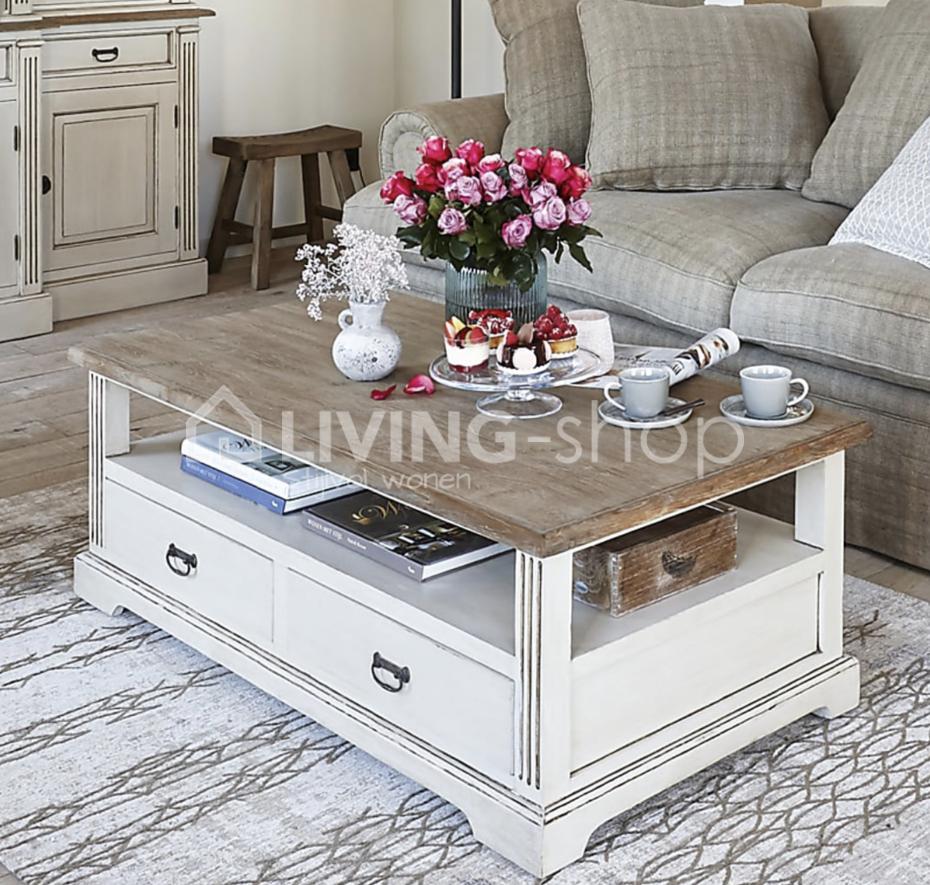 Creme meubels landelijke stijl online kopen living shop for Meubels landelijke stijl