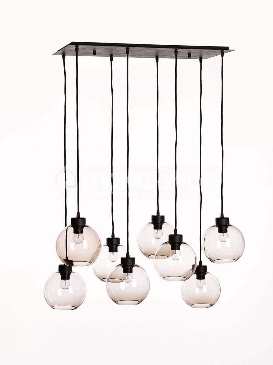 Loft bollenluchter lampenpendel met globes
