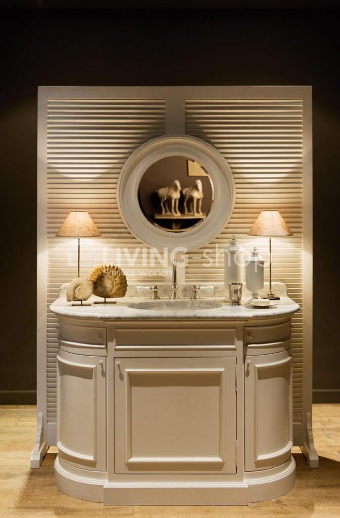 landelijk badkamermeubel kopen living shop landelijke. Black Bedroom Furniture Sets. Home Design Ideas