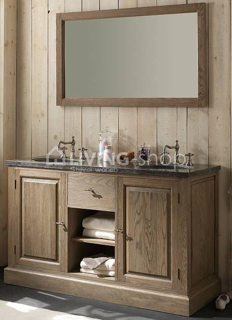 eiken badkamermeubels voor de landelijke badkamers online