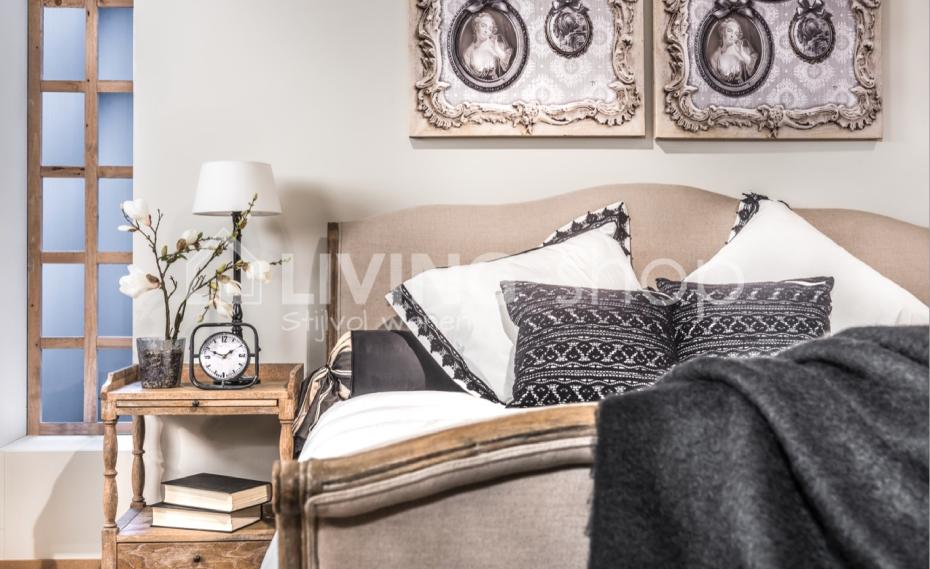 Landelijk Wonen Slaapkamer : Eiken bed landelijke stijl online kopen living shop wonen