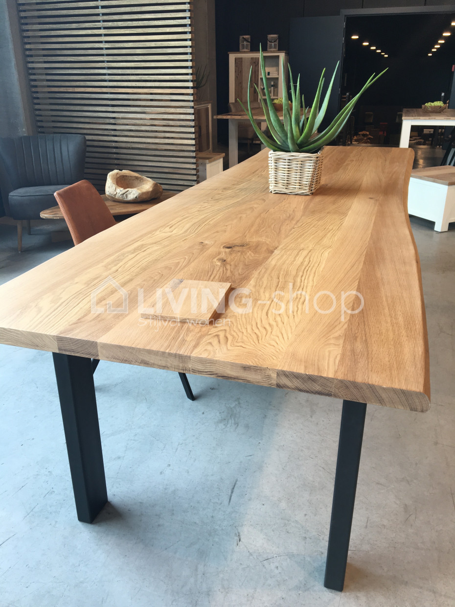 Table Tronc D Arbre Chene En Ligne Living Shop Boutique Web