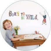 muursticker-voor-jongens-born-to-be-wild-van-mimi-lou