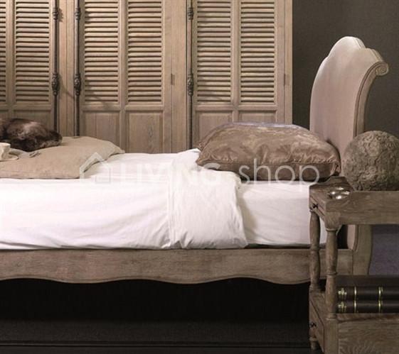 Eiken-landelijk-bed-160-linen-oak-aged-grey-160x110-80x210cm