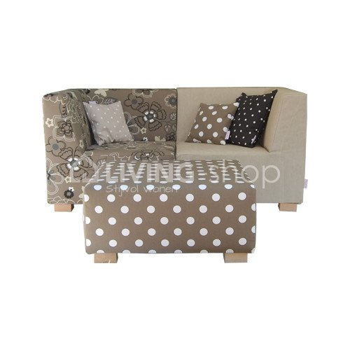 lounge-double-medium-ploem-stof-strepen-divers