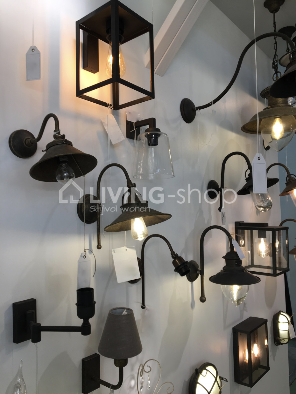 Brons wandlamp voor buiten, Maritime buitenverlichting