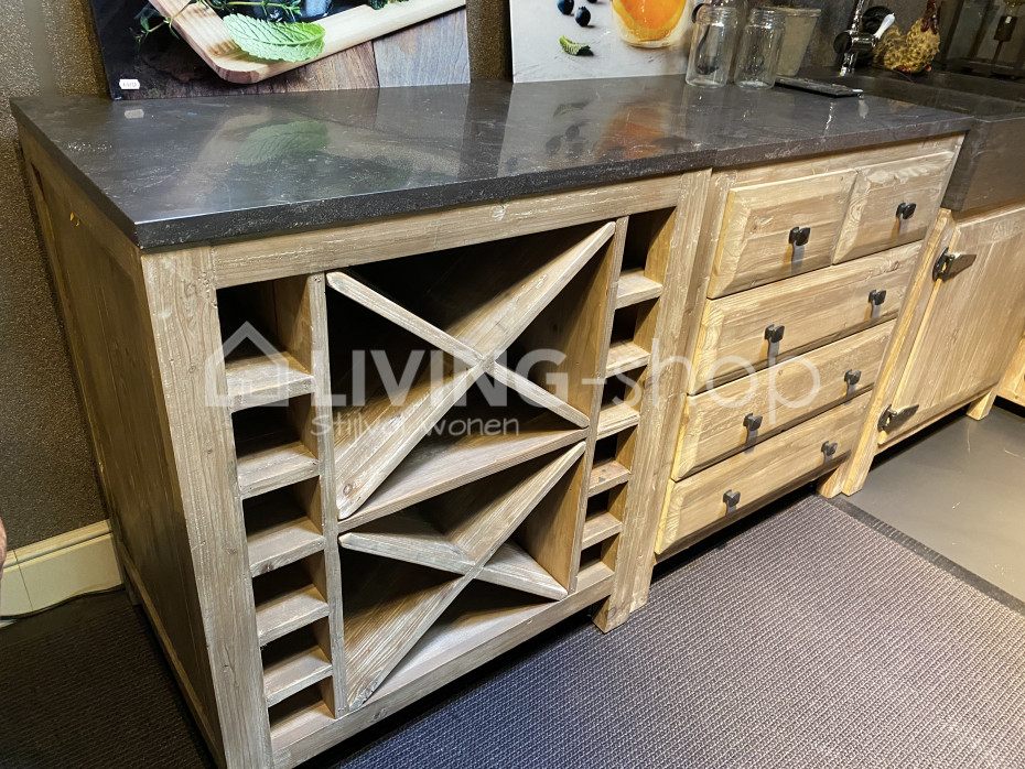 Country Style Kitchen Wine Rack Living Shop Online Store