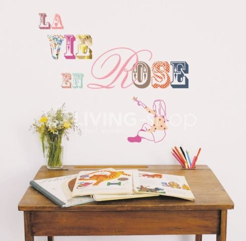 muursticker-la-vie-en-rose-mimi-lou-interieurstickers-muurstickers