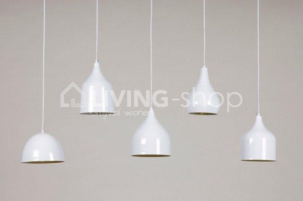 Vintage hanglampen pendel wit