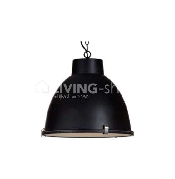 hangar-lamp-glossy-black-metal-white-inside