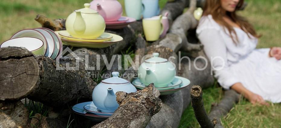 tafelservies-pastel-borden-marshmallow-mix-j-line