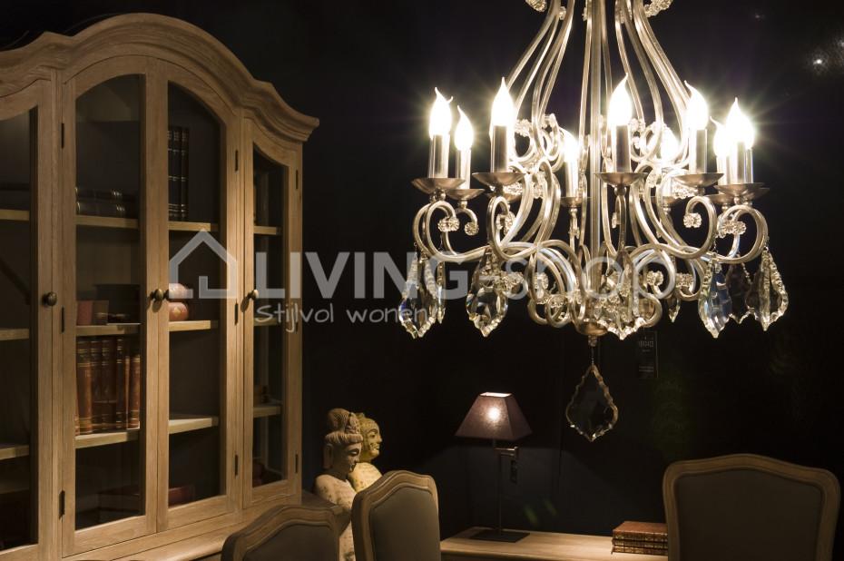 Stijlvol Kristallen Hanglampen : Lusters met kristallen living shop stijlvol wonen webshop
