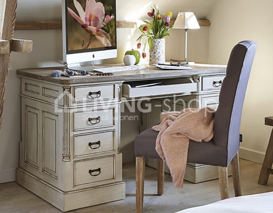 Meuble de bureau style champêtre vente en ligne living shop