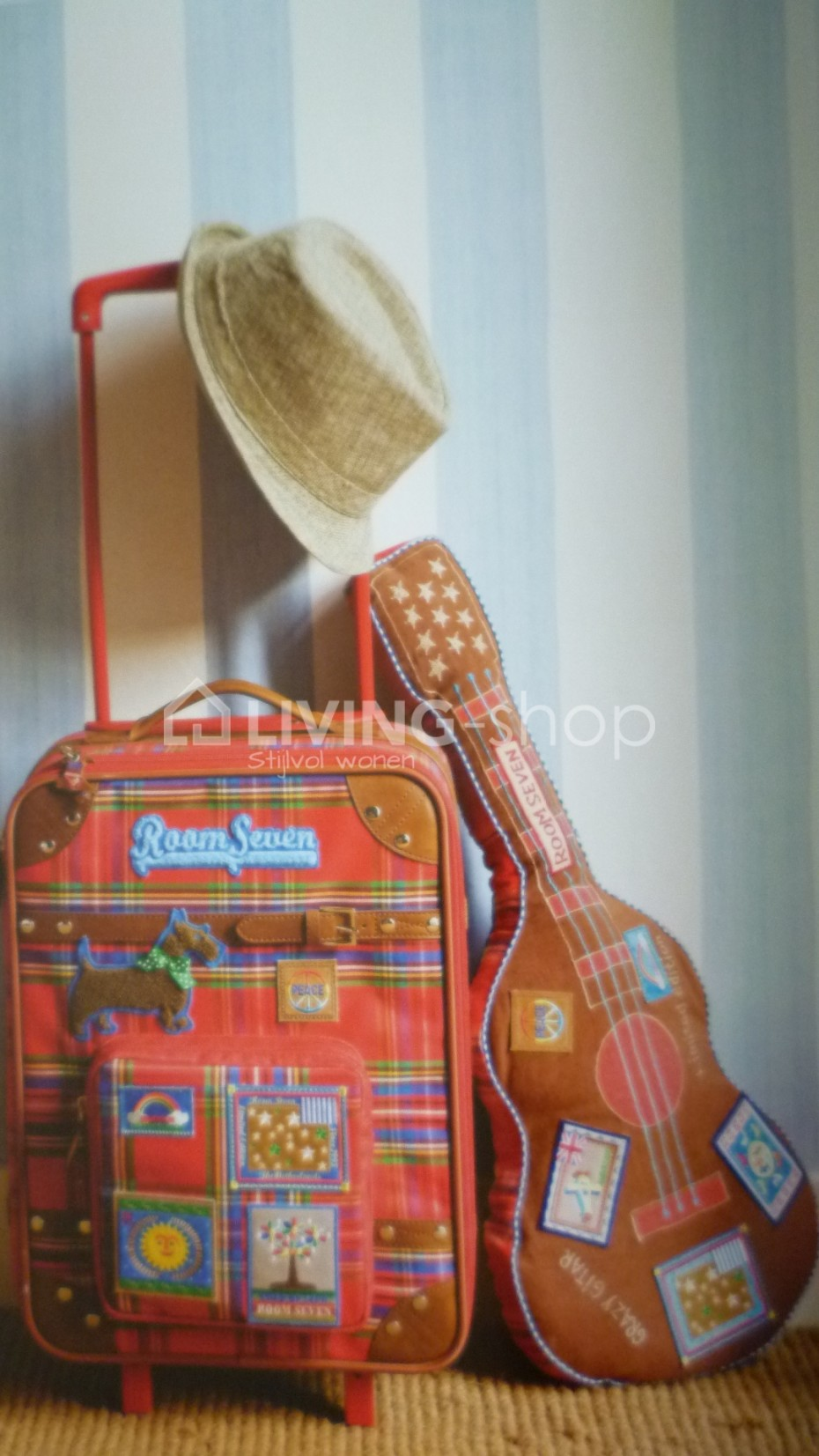 vrolijke-rock-gitaar-voor-jongens-room-seven
