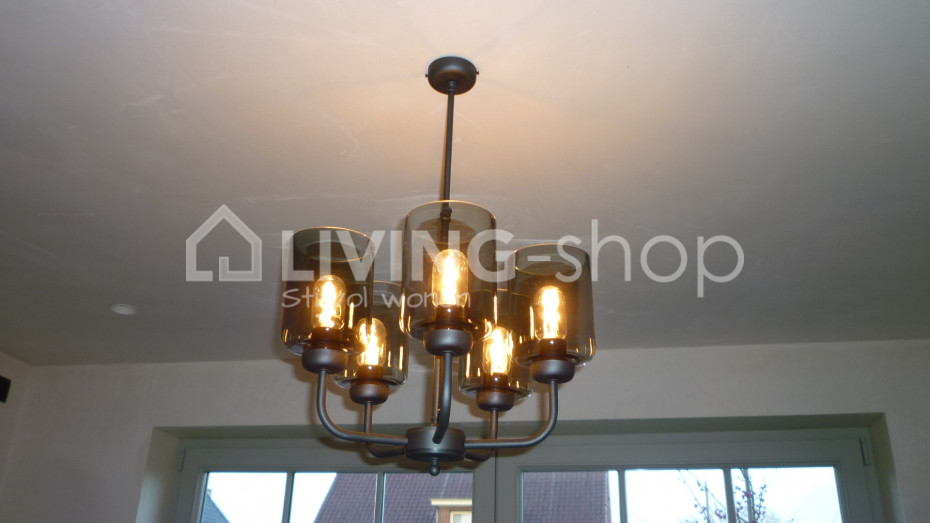 donkerbrons-luster-loft-stijl-verlichting