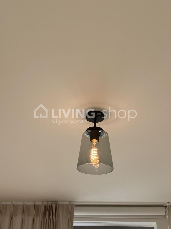 loft-plafondlamp-donkerbrons-met-glazen-lampenkap