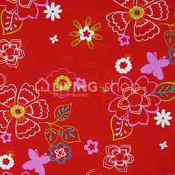 lounge-basic-medium-ploem-stof-bloemen-rood