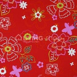 lounge-double-medium-ploem-stof-bloemen-rood