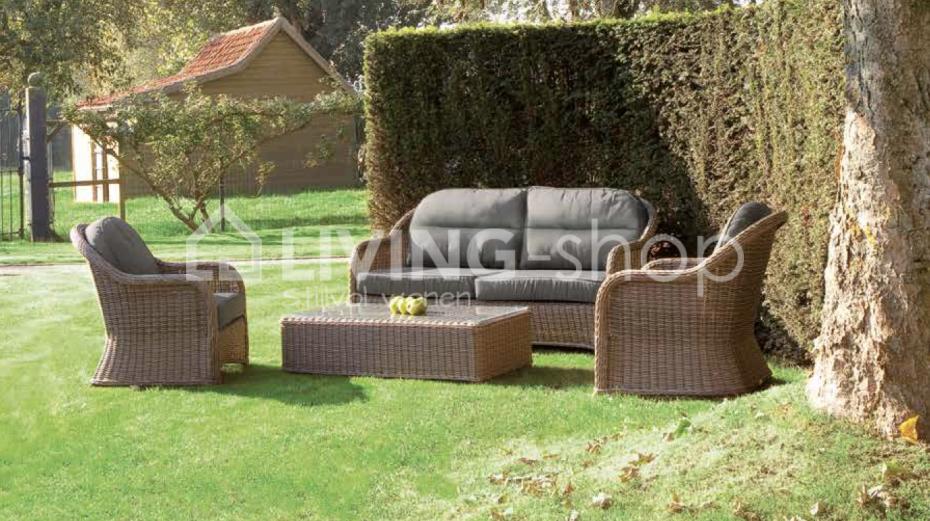 Super Salvador fauteuil club sisal de Castle Line outdoor vente en ligne DX-64