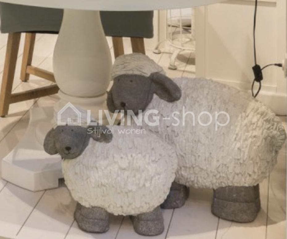 schaap beelden voor in de tuin j line online kopen living shop stijlvol wonen webshop. Black Bedroom Furniture Sets. Home Design Ideas