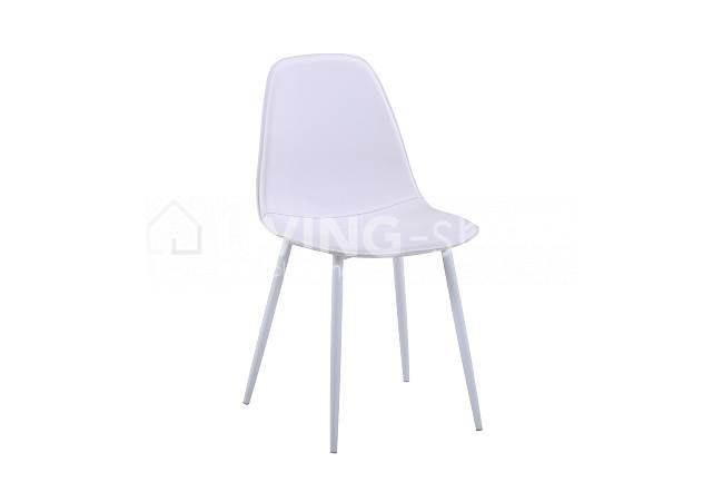 Witte design stoelen leder goedkoop online kopen living shop eu