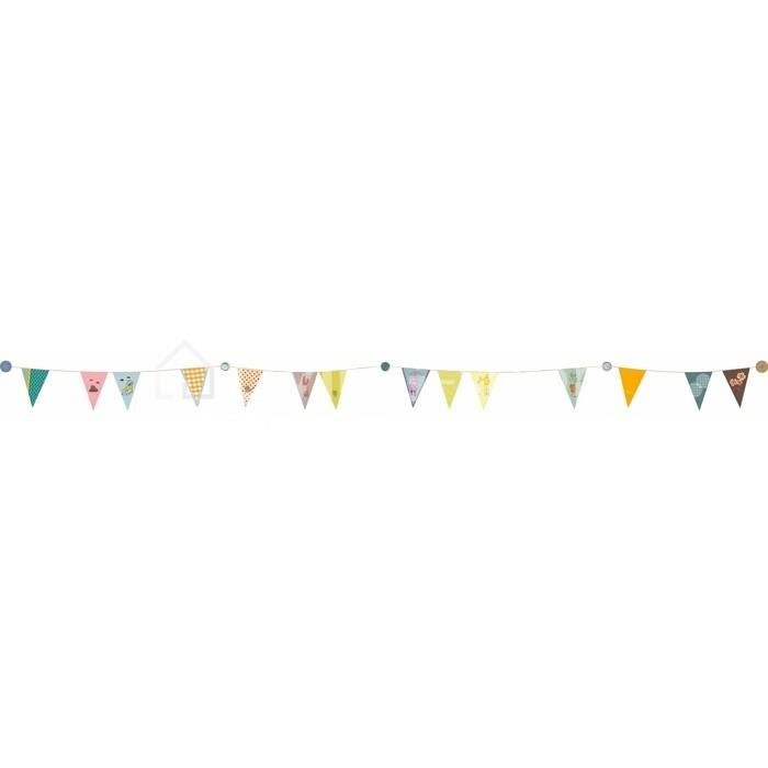 muurstickers-kleurige-vlaggenborder-mimi-lou-muursticker-interieurstickers